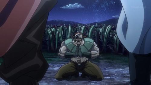 ジョジョ アニメ 第三部 第22話 泣いて謝るカメオ