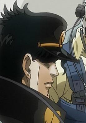 ジョジョ アニメ 第三部 第24話 無言の承太郎