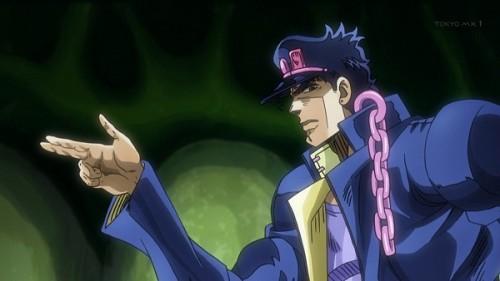 ジョジョ アニメ 第三部 第24話 承太郎 「おい みんなこのまま外へ出るぜ」