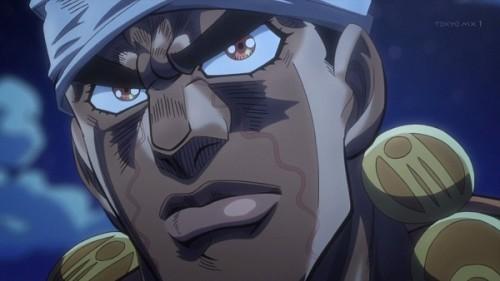 ジョジョ アニメ 第三部 第22話 アヴドゥル 「HELL 2 U!」