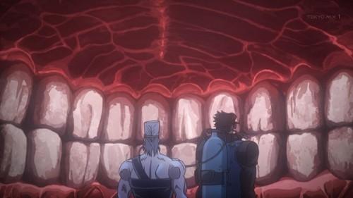 ジョジョ アニメ 第三部 第24話 照れるミドラー