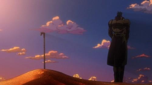 ジョジョ アニメ 第三部 第26話 ンドゥールを弔う承太郎
