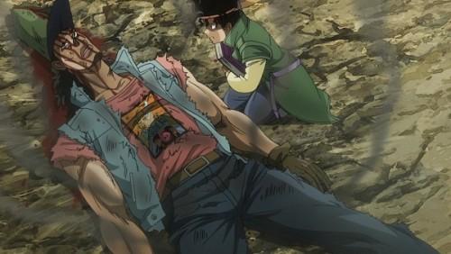 ジョジョ アニメ 第三部 第27話 爆発したオインゴ