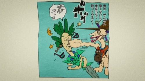 ジョジョ アニメ 第三部 第27話 オインゴ・ボインゴアドベンチャー 意味もなく殴るオインゴ