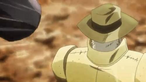 ジョジョ アニメ 第三部 第30話 ジョセフに飛んで行くトンカチ