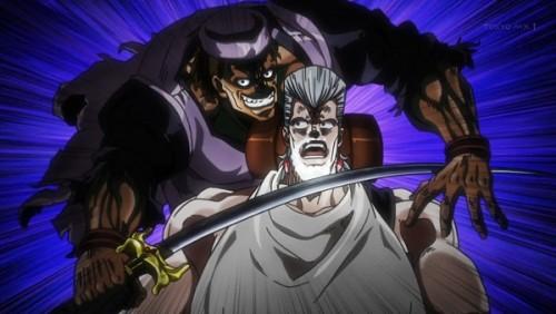 ジョジョ アニメ 第三部 第28話 カーンに襲われるポルナレフ
