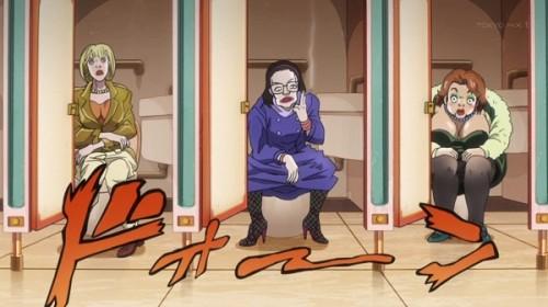 ジョジョ アニメ 第三部 第30話 トイレの女性