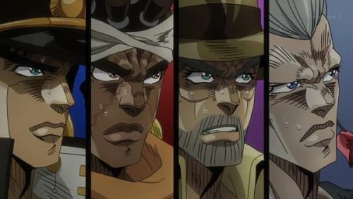 ジョジョ アニメ 第三部 第34話 焦燥感がつのる一行