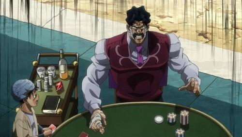 ジョジョ アニメ 第三部 第35話 驚くダービー