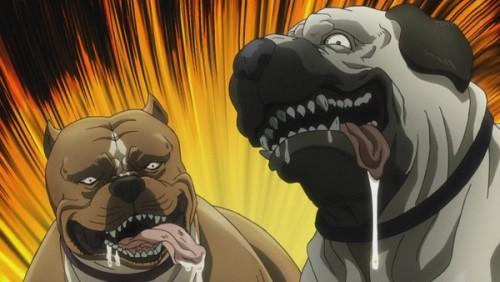 ジョジョ アニメ 第三部 第38話 世紀末チックな犬