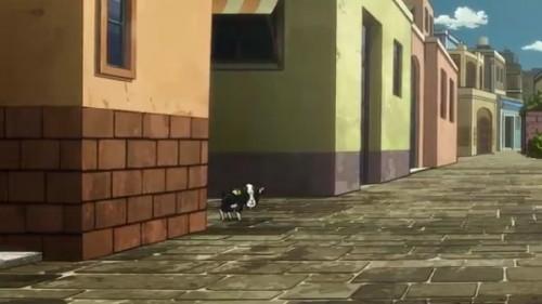 ジョジョ アニメ 第三部 第39話 街角からイギー登場
