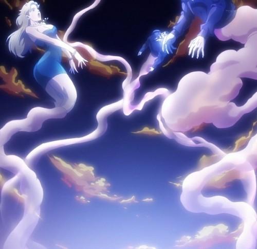 ジョジョ アニメ 第三部 第35話 解放された魂