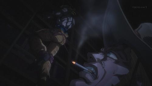 ジョジョ アニメ 第三部 第36話 DIO登場