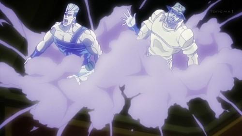 ジョジョ アニメ 第三部 第35話 魂が解放されたジョセフとポルナレフ