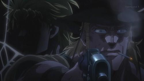 ジョジョ アニメ 第三部 第36話 ホル・ホースの背後に回るDIO