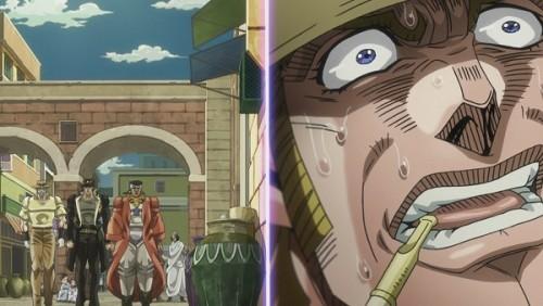 ジョジョ アニメ 第三部 第36話 三人が近づいてくる!