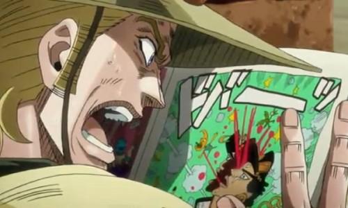 ジョジョ アニメ 第三部 第37話 前のページを見るホル・ホース