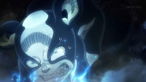 ジョジョ アニメ 第三部 第39話 わざと潰れて吹っ飛ぶイギー