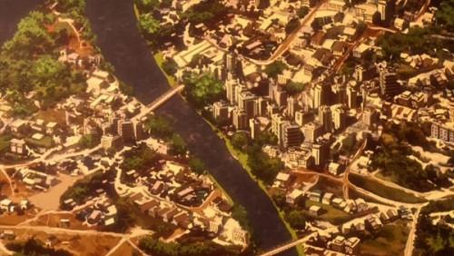 ジョジョ アニメ 第三部 第39話 カイロの町並み