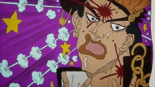 ジョジョ アニメ 第三部 第37話 「脳天をブチ抜いたゾー」