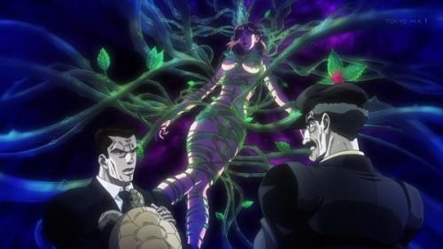 ジョジョ アニメ 第三部 第44話 ホリィさん サービスカット(3)