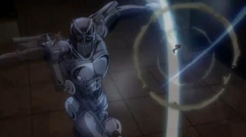 ジョジョ アニメ 第三部 第43話 チャリオッツの連続攻撃