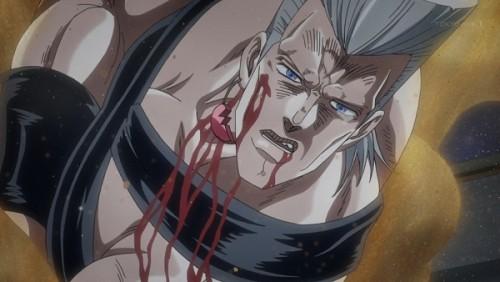 ジョジョ アニメ 第三部 第44話 「あれほど言ったのに・・・・・・」