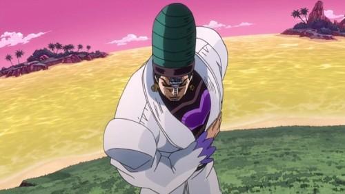 ジョジョ アニメ 第三部 第40話 「そのとおりでございます」