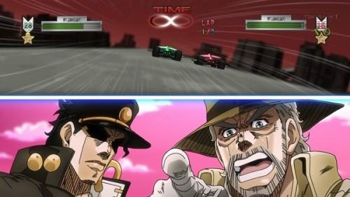 ジョジョ アニメ 第三部 第40話 ゲームに興奮するジョセフ
