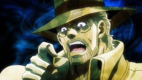ジョジョ アニメ 第三部 第41話 呆れるジョセフ