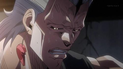 ジョジョ アニメ 第三部 第45話 泣きそうなポルナレフ