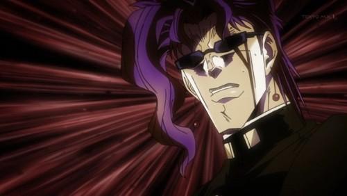 ジョジョ アニメ 第三部 第45話 「なにか飛んでくるッ!」