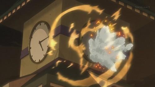 ジョジョ アニメ 第三部 第46話 破壊される時計