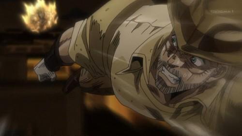 ジョジョ アニメ 第三部 第46話 わしにはパニックという言葉はない