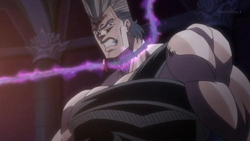 ジョジョ アニメ 第三部 第45話 逃げたくないポルナレフ