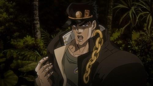ジョジョ アニメ 第三部 第45話 助っ人に来た承太郎
