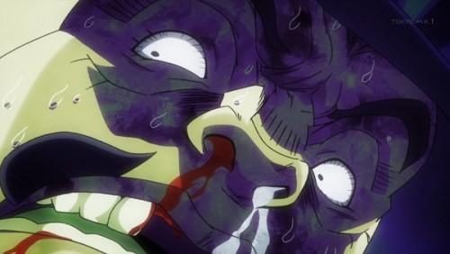 ジョジョ アニメ 第三部 第45話 「逃げなきゃ殺されるッ!」