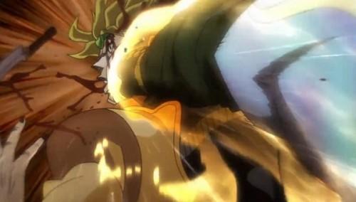 ジョジョ アニメ 第三部 第47話 殴られるDIO