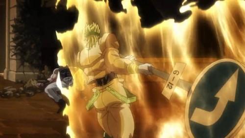 ジョジョ アニメ 第三部 第47話 ポルナレフに近づくDIO