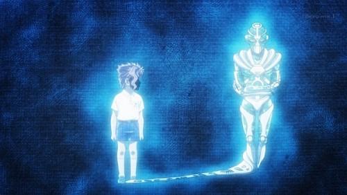 ジョジョ アニメ 第三部 第46話 幼少期の花京院とハイエロ