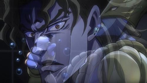 ジョジョ アニメ 第三部 第47話 感動するDIO
