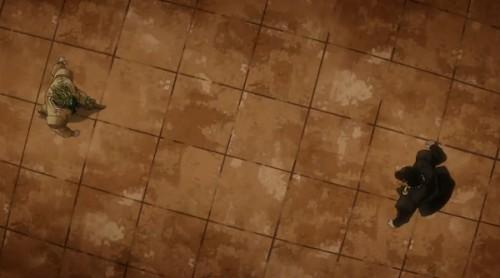 ジョジョ アニメ 第三部 第46話 近づいていく二人