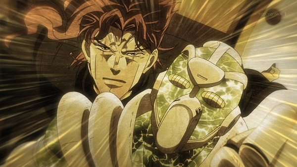 ジョジョ アニメ 第三部 第46話 花京院の決意