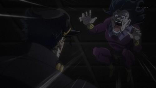 ジョジョ アニメ 第三部 第44話 飛びかかるヌケサク
