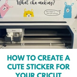 How to create cute stickers for your Cricut