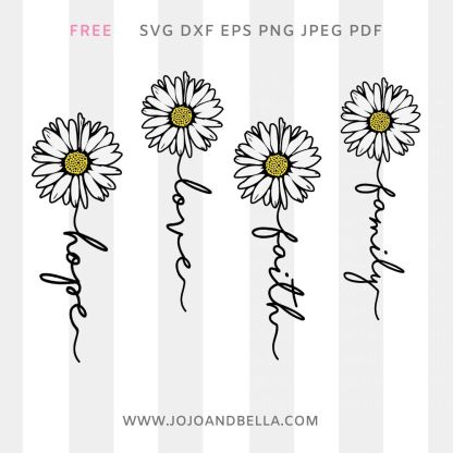daisy quote svg