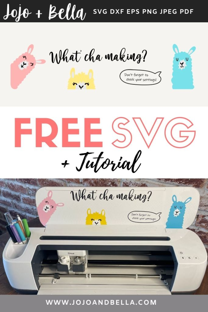 free svg and tutorial for cricut and silhouette crafting