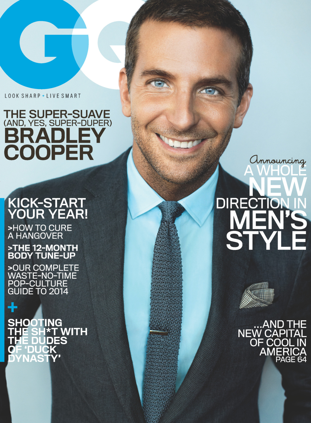 Gq Magazine The Secrets Of R Kelly: BRADLEY COOPER COVERS GQ MAGAZINE JANUARY COVER