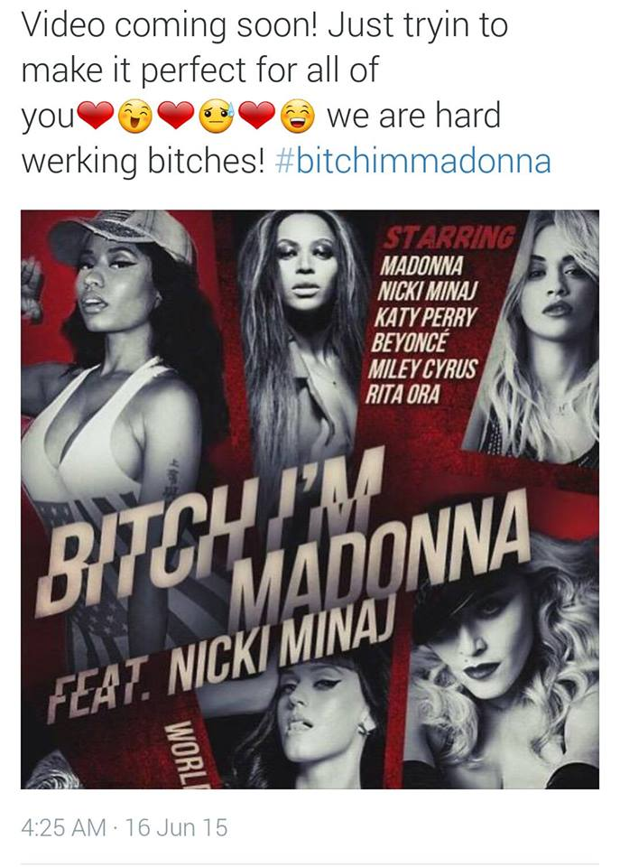 MadonnaBitchvideo