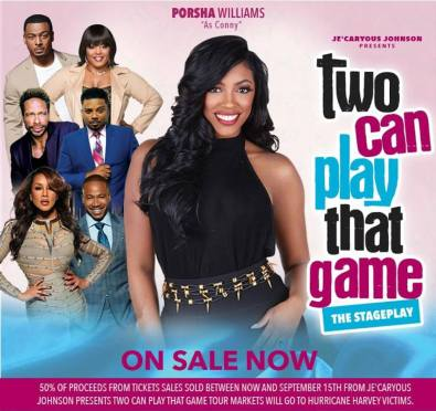 Porsha Williams Joins Cast of 'Two Can Play That Game' Stage Play Alongside Vivica A. Fox, Columbus Short, Carl Payne & More